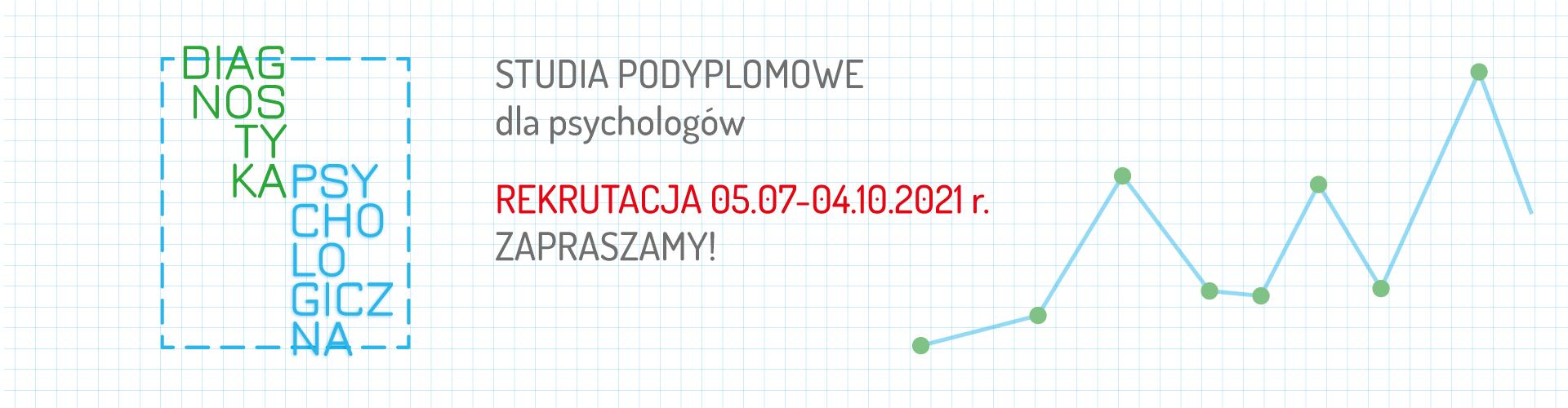 """Rekrutacja na """"Diagnostykę psychologiczną"""" - dowiedz się więcej"""