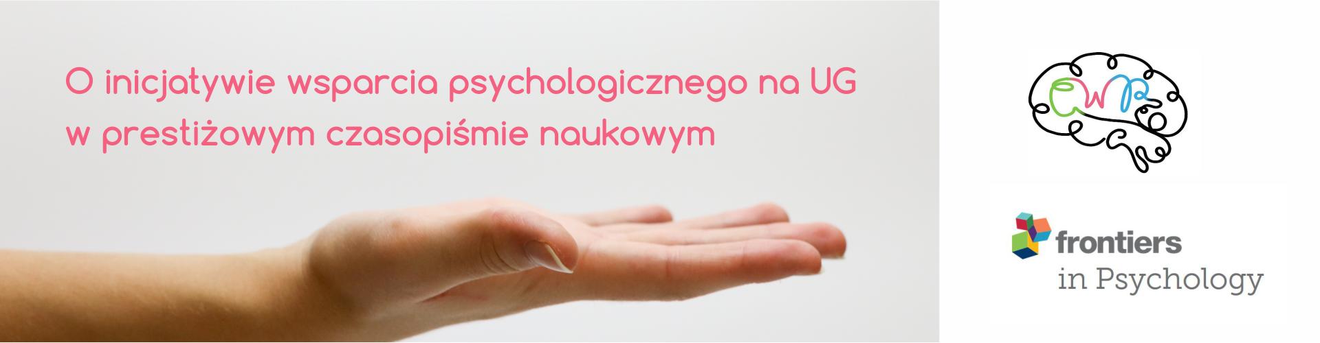 O uniwersyteckiej inicjatywie bezpłatnego wsparcia psychologicznego: artykuł w Frontiers od Psychology