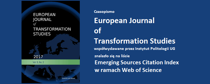 Czasopismo European Journal of Transformation Studies