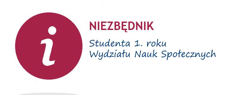 Niezbędnik studenta I roku - WNS
