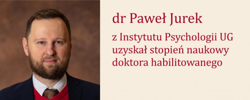 Habilitacja Pawła Jurka