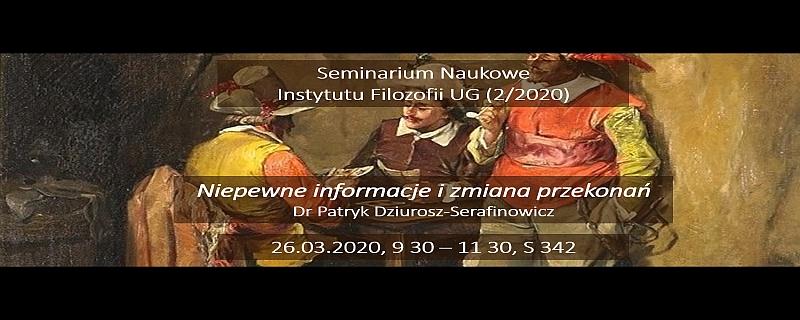 Seminarium Naukowe Instytutu Filozofii UG