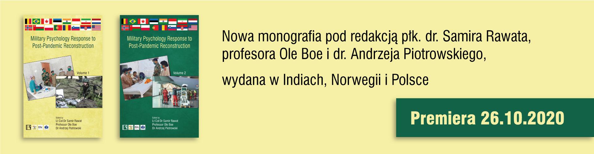 Nowa monografia naukowa