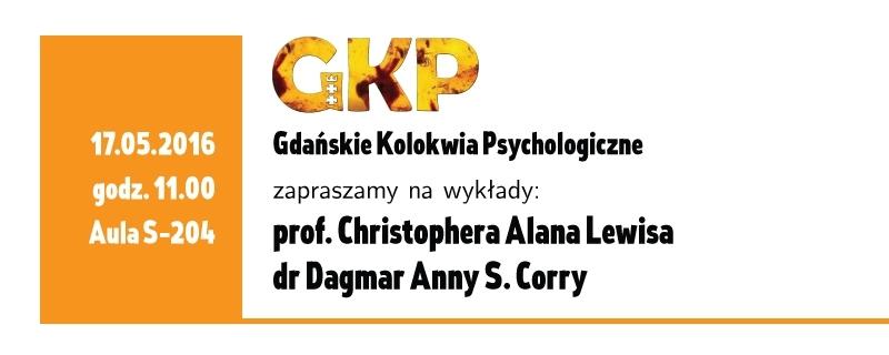 Gdańskie Kolokwia Psychologiczne 17 maja 2016
