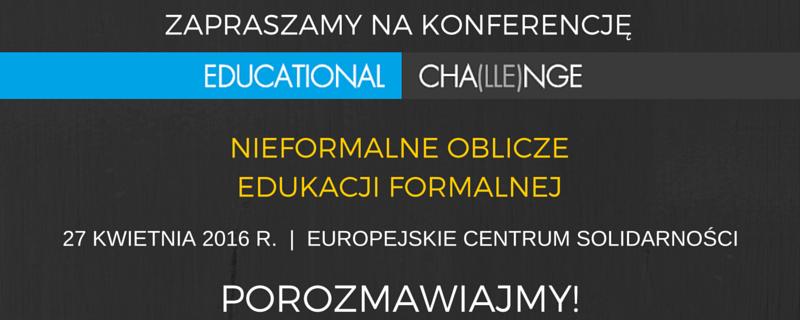 Educational Cha(lle)nge