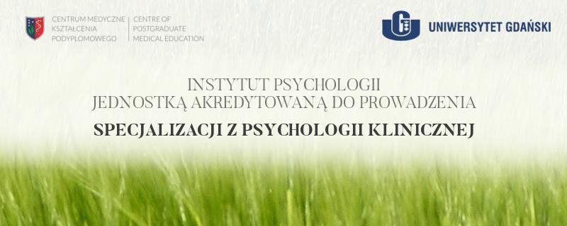 Specjalizacja z Psychologii Klinicznej na UG