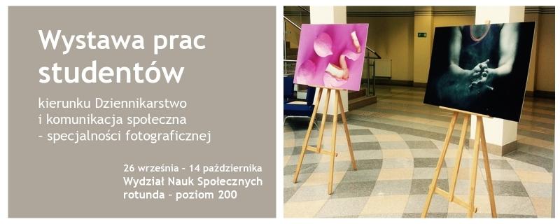 Wystawa prac studentów