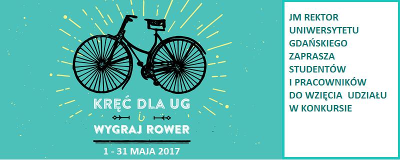 Kręć kilometry dla UG i wygraj rower!