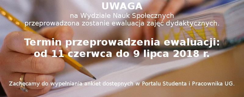Ewaluacja zajęć semestr letni 2017/18