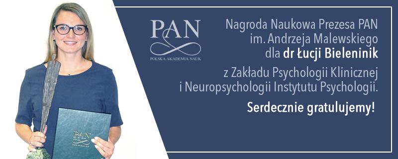 Nagroda Prezesa Polskiej Akademii Nauk im. Andrzeja Malewskiego