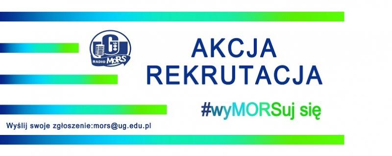 Przyjdź na przesłuchania i dołącz do zespołu Radia MORS czyli Mega Otwartego Radia Studenckiego Uniwersytetu Gdańskiego.