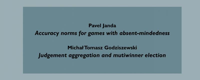 Pavel Janda; Michał Tomasz Godziszewski