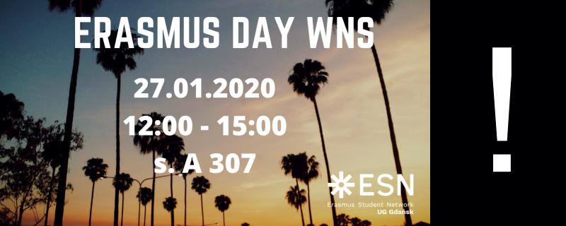 baner Erasmus Day
