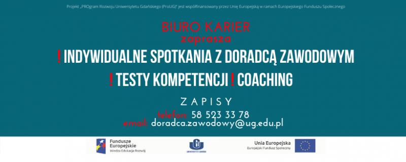 """PROgram Rozwoju Uniwersytetu Gdańskiego (ProUG)"""" ZADANIE 6: M4"""
