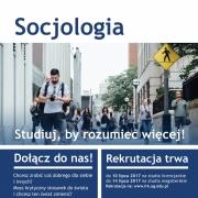 plakat socjologia
