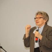 """Prof. dr hab. Joanna Rutkowiak wygłasza """"pedagogiczne credo"""""""