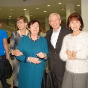Zaproszeni goście: od lewej Magdalena Żerko, dr Wisława Loebl, dr Józef Żerko, Janina Butrymowicz